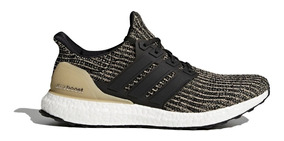 adidas Zapatillas Running Hombre Ultraboost Negro/oro