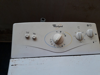En Funcionamiento Lavarropas Automatico Phillips Whirlpool.