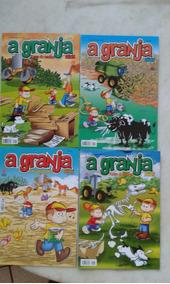 Lote Revistas A Granja Kids Turma Do Dadico