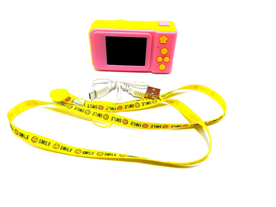 Mini Câmera Filmadora Digital Portátil 2 Polegadas Infantil