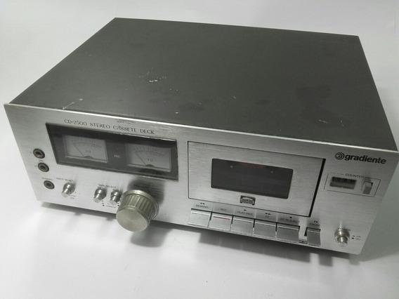 Tape Deck Cassete Stereo Gradiente Cd-2500 110/220v