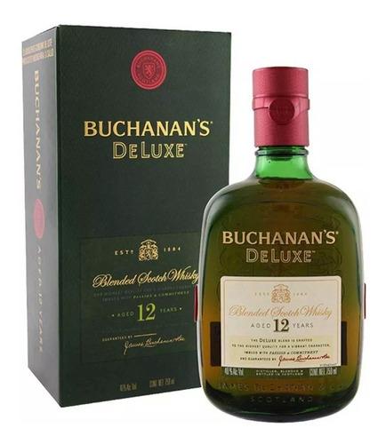 Whisky Buchanans 12 Años Botella De Litro Envio Gratis Caba