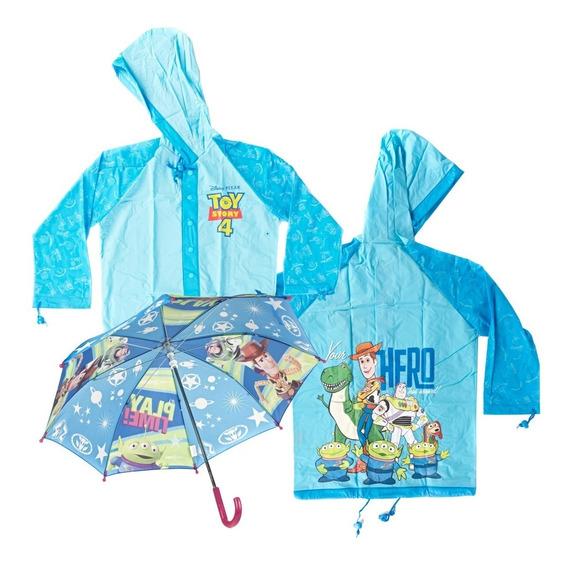 Combo Piloto + Paraguas Disney Toy Story 4 Mundo Manias