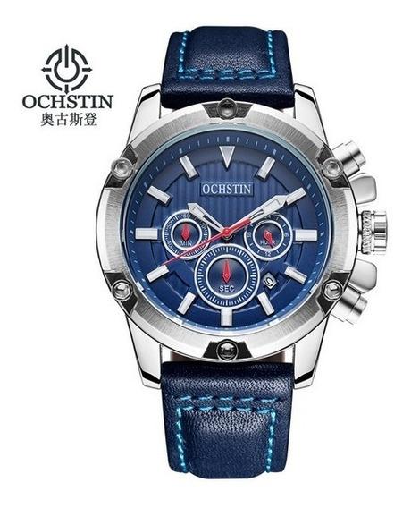 Relógio Masculino Ochstin 075a Azul