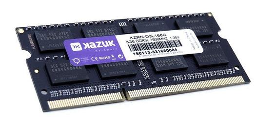Memória Notebook Kazuk 8gb - 1600 Mhz Ddr3l Ram Kzrn-d3l168g