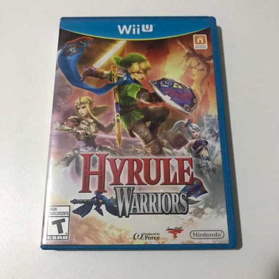 Hyrule Warriors Wii U Mídia Física Original Nintendo