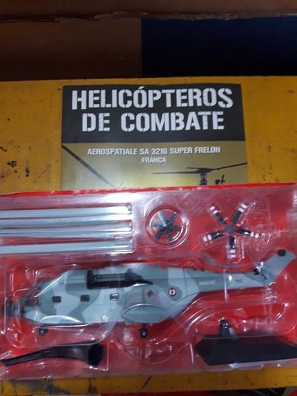 Miniatura Helicóptero De Combate Super Frelon