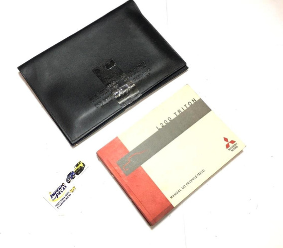 Manual Proprietário Mitsubishi L200 Triton #7247
