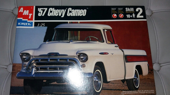 Kit Montar Chevy Cameo 57 Amt 1/24