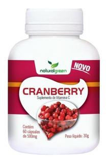 Cranberry Naturei 60 Cápsulas De 500 Mg