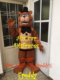 Freddy Disfraz Cabezón Fnaf (five Nigth At Freddy