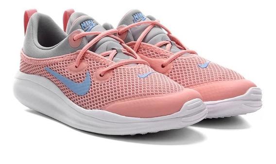 Tênis Infantil Nike Acmi Ps - Coral E Azul Original C/nota Fiscal