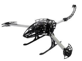 Frame Drone Tricoptero Hexacoptero Scorpion Y650 Masteruz