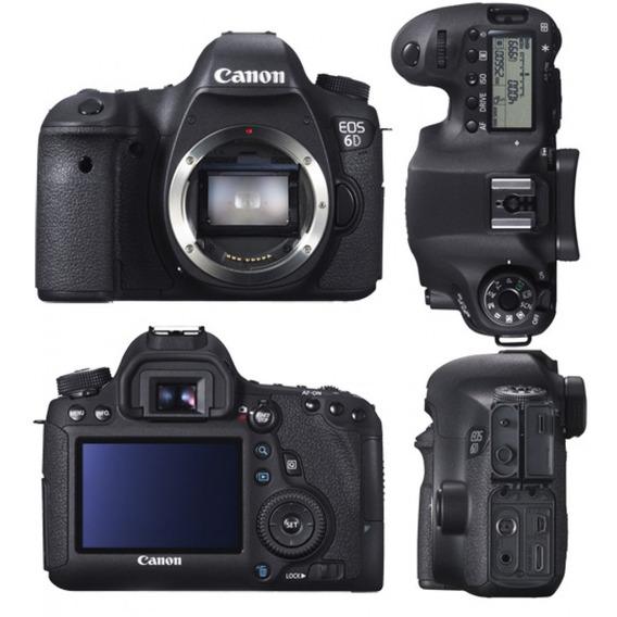 Canon 6d - Camera Semi-nova
