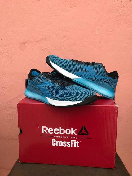 Tenis Reebok Crossfit Nano 9 Hombre Azul