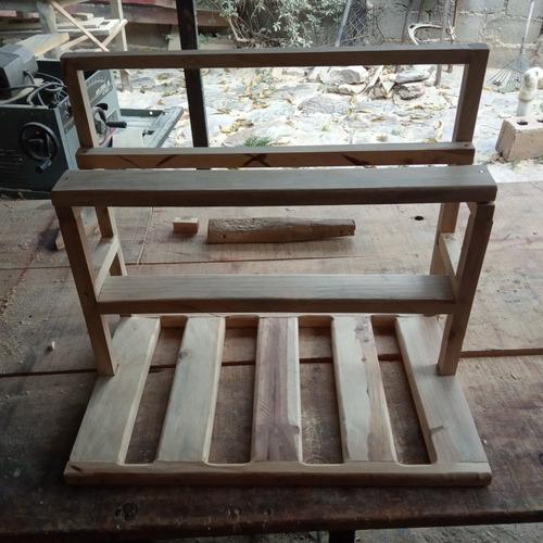Estructura Rig Rack En Madera,case,minero