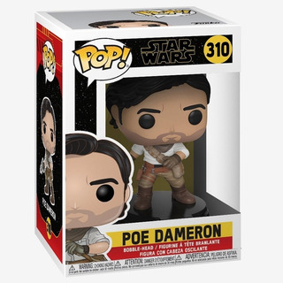 Figura Funko Pop Movies 310 Poe Dameron- Star Wars Oferta!