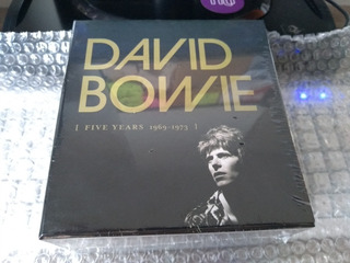 David Bowie - Box Five Years 1969-1973 - Box Novo E Lacrado