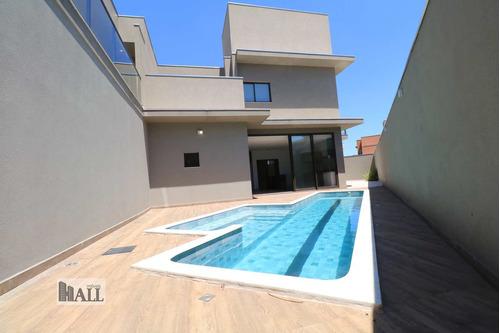 Casa À Venda Condomínio Quinta Do Golfe Com 4 Quartos E 4 Vagas - V5407