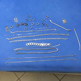 Correntes Pulseiras Anéis De Prata