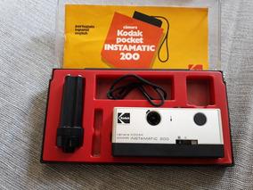 Câmara Kodak Pocket Instamatic 200 Na Caixa Para Colecionar