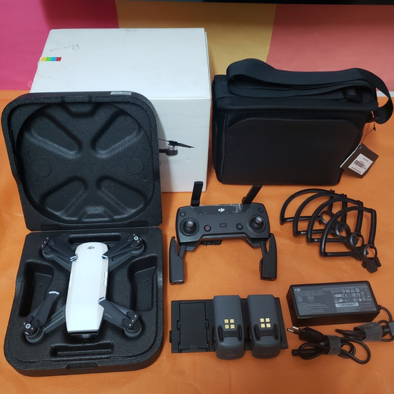 Drone Dji Spark Combo Fly More + Anatel + Nf = Pardal Hobby!