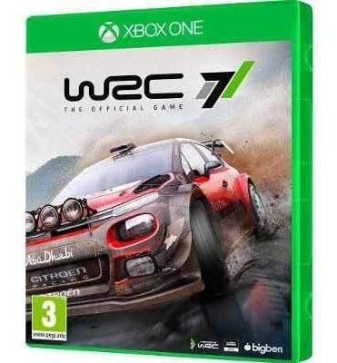 Wrc 7 Fia Xbox One + Brinde