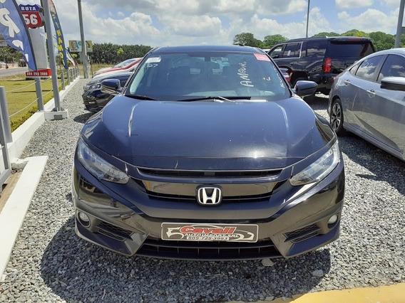 Honda Civic Touring Negro 2016
