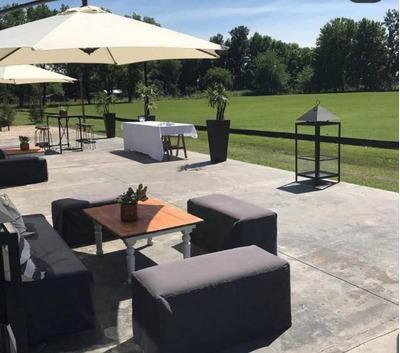 Oportunidad Alquiler Chacra Con Caballerizas, Cancha Polo Y Lounge Eventos Corporativos - Zona Pilar