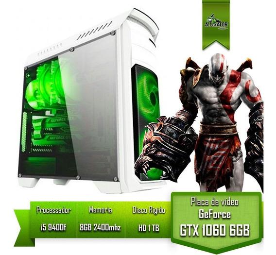 Pc Gamer I5 9400f H310m M2 Gtx 1060 6gb Memoria 8gb Hd 1tb