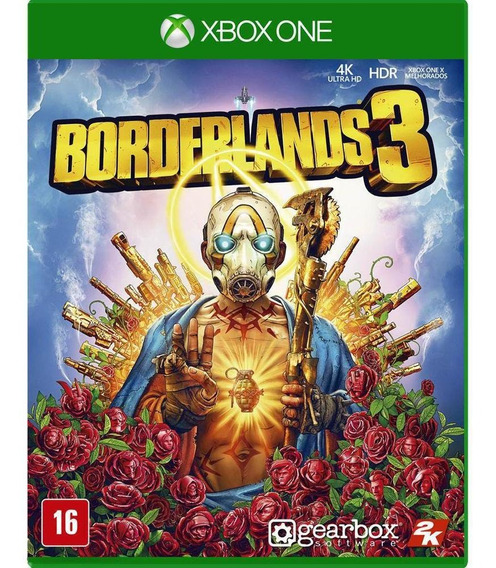 Jogo Novo Midia Fisica Borderlands 3 Original Para Xbox One