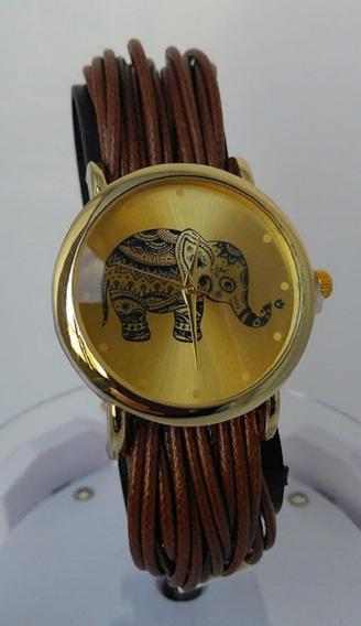 Kit 2 Relógios Feminino Pulseira De Couro Silicone Barato