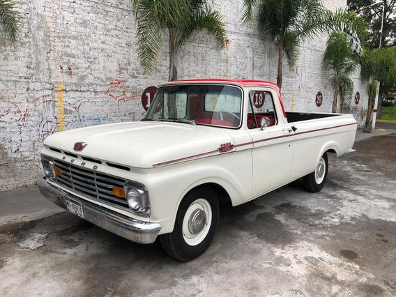 Ford F100 Pick Up 1963 Excelentes Condiciones Clasica!!