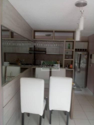 Imagem 1 de 25 de Apartamento Com 3 Dormitórios À Venda, 50 M² Por R$ 150.000 - Tarumã Açu - Manaus/am - Ap2760