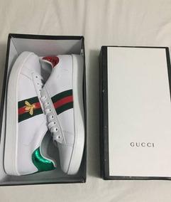 Zapatillas Gucci Abeja Y Tigre Stock Tienda Fisica