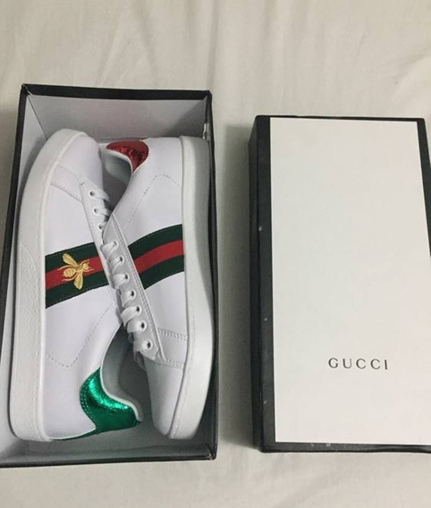 Zapatillas Gucci Abeja Stock - Entrega Sin Costo