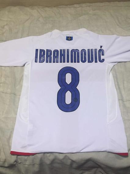 Camisa Inter De Milão Original Ibrahimovic 2008 Infantil