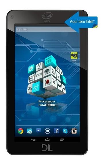 Tela Touch Tablet Dl Tp266bra Xpro Dual Original Com Logo
