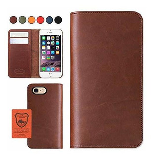 iPhone 7/8 Japan Leather Phone Funda - Brown