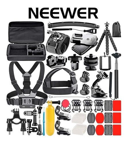 Neewer Gopro Kit 50 Accesorios Para Cámara Gopro Y Hero