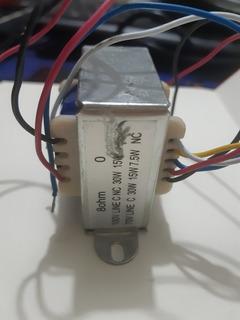 Transformador De Linea 70/100 Tap. 30,15 Y 7,5 W