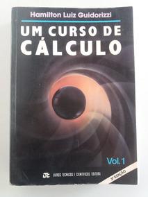 Um Curso De Cálculo, Volume 1, 3° Edição.