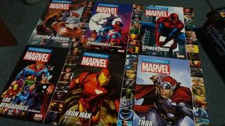 Enciclopedias Comic Marvel Salvat Vengadores Thor Iron Man