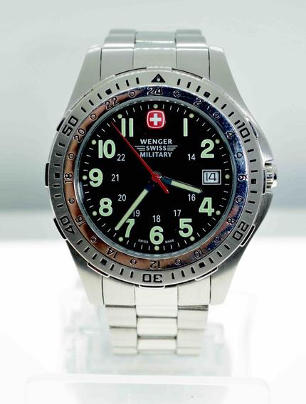 Reloj Wenger Militar Pilot Battalion Suizo Acero Inoxidable