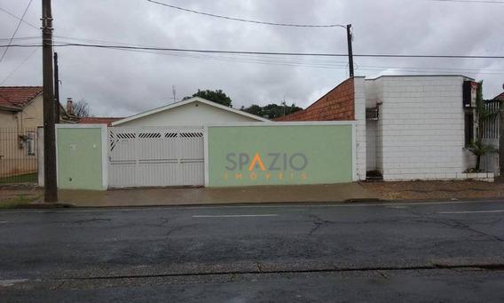 Casa Residencial À Venda, Vila Alemã, Rio Claro. - Ca0187