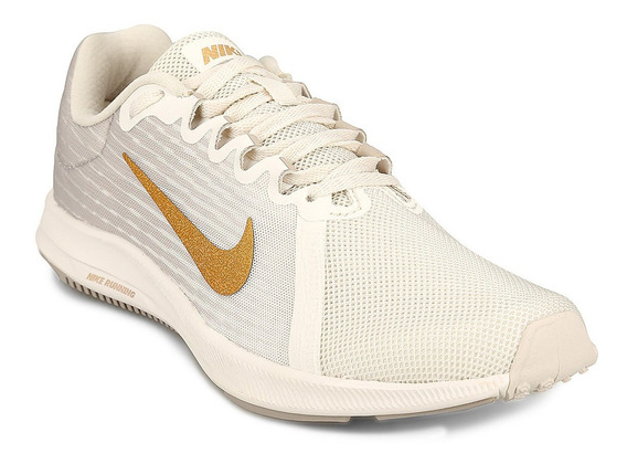 Zapatillas Nike Downshifter 8 I - Gris Y Blanco