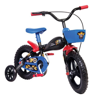 Bicicleta Infantil Aro 12 Moto Bike De 3 A 5 Anos - Styll