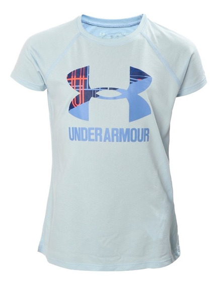 Playera Atletica Big Logo Niña Under Armour Ua2747
