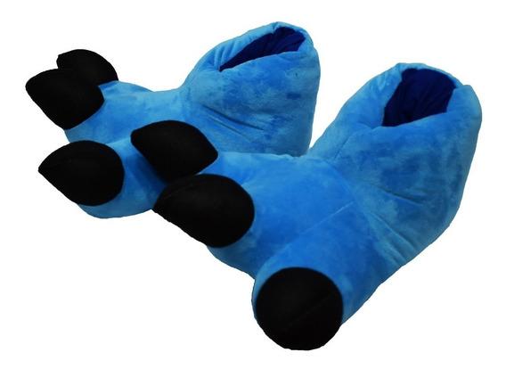 Pantuflas Garra Azul Pijama Kigurumi Envío Gratis!!!