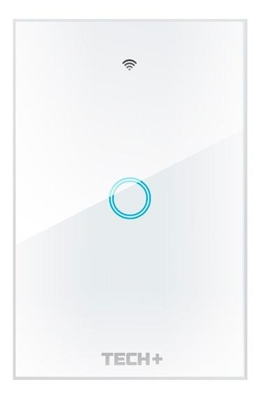 Interruptor De Luz Smart Wifi Táctil Con Cristal - 1 Gang